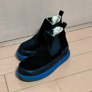 ブランシェス(Branshes)のブランシェス branshes 17cm キッズ ブーツ スエード調 ボア(ブーツ)
