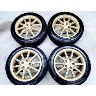 スバル(スバル)の【ほぼ新品】スバル WRX STI 純正ブリザックVRX2 スタッドレス GDB(タイヤ・ホイールセット)