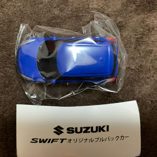 スズキ(スズキ)のSUZUKI SWIFT オリジナルプルバックカー(ミニカー)