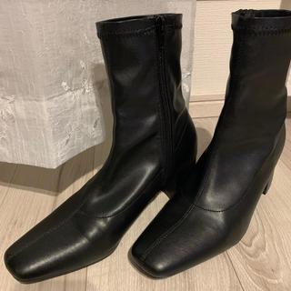 ナイスクラップ(NICE CLAUP)のストレッチミドルブーツ(ブーツ)