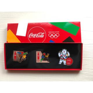 コカコーラ(コカ・コーラ)のコカ・コーラ オリジナル ピンズセット(ノベルティグッズ)