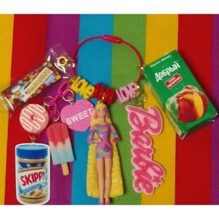 バービー(Barbie)の【ヴィンテージバービー】じゃらじゃらキーホルダー(キャラクターグッズ)