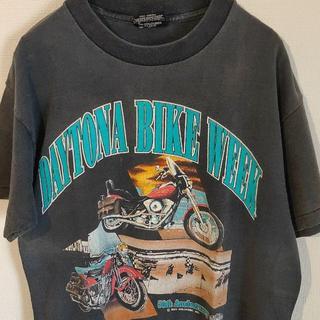 アメリヴィンテージ(Ameri VINTAGE)の90s ハーレーダビッドソン シングルステッチ Tシャツ(Tシャツ/カットソー(半袖/袖なし))