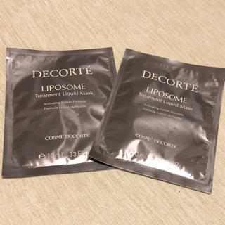 COSME DECORTE - リポソーム トリートメント リキッドマスク
