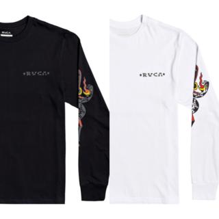 ルーカ(RVCA)の【Rvca】 Krak Daggers 長袖Tシャツ(Tシャツ/カットソー(七分/長袖))