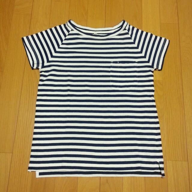 MUJI (無印良品)(ムジルシリョウヒン)のMUJI Labo◎ ボーダーTシャツ レディースのトップス(Tシャツ(半袖/袖なし))の商品写真