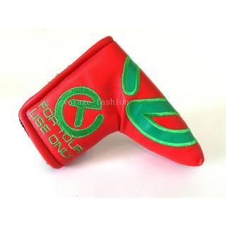 スコッティキャメロン(Scotty Cameron)のパターカバースコッティキャメロンツアーツアー支給 磁石タイプ開閉 緑T-赤(その他)