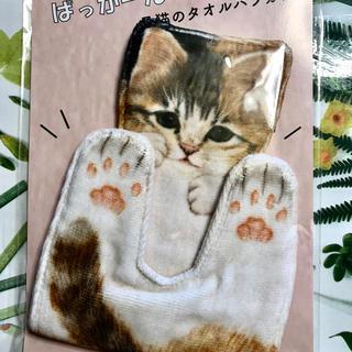 FELISSIMO - フェリシモ猫部 ぱっかーん!開脚した子猫のタオルハンカチ