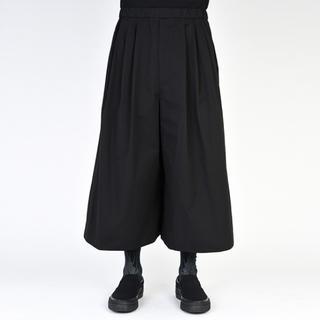 ラッドミュージシャン(LAD MUSICIAN)のLADMUSICIAN 袴パンツ black 19ss 44 (スラックス)