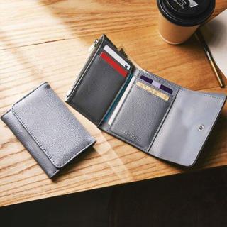 シップス(SHIPS)のモノマックス 付録 シップス  三つ折り財布 新品(折り財布)