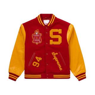シュプリーム(Supreme)のSupreme team varsity jacket sサイズ(スタジャン)