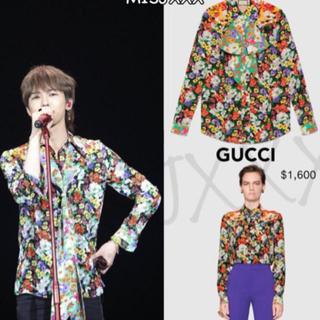 Gucci - GUCCI ボウタイフラワーシャツ g-dragon着用