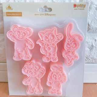 ダッフィー(ダッフィー)の香港ディズニー限定ダッフィーフレンズ クッキー型(キャラクターグッズ)