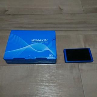 エヌイーシー(NEC)のWiMAX2+ Speed Wi-Fi NEXT WX04(その他)