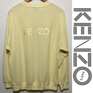 ケンゾー(KENZO)のKENZO プルオーバー ケンゾー クルーネック カットソー ビッグロゴ(Tシャツ/カットソー(七分/長袖))