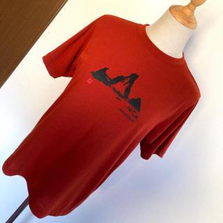モンベル(mont bell)のmont-bell★ウィックロンTシャツ『山』テラコッタオレンジ(Tシャツ(半袖/袖なし))