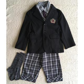 エニィファム(anyFAM)の100〜120 男の子 6点 まとめセット ジャケット 結婚式 入学式(ドレス/フォーマル)