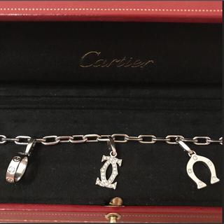 カルティエ(Cartier)のタイムセール❣️レア❤︎カルティエ❤︎スパルタカスチャーム3点付ブレスレット(ブレスレット/バングル)