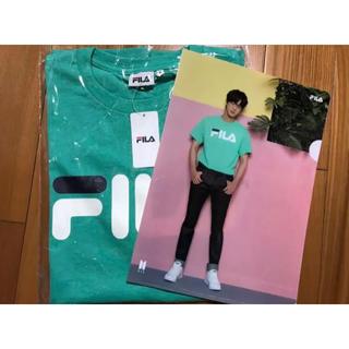 フィラ(FILA)のBTS ジン FILATシャツ(Tシャツ(半袖/袖なし))