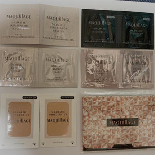 マキアージュ(MAQuillAGE)のマキアージュ 試供品セット(サンプル/トライアルキット)