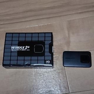 エヌイーシー(NEC)のWiMAX2+ Speed Wi-Fi NEXT WX02(PC周辺機器)