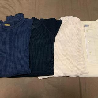 テンダーロイン(TENDERLOIN)のtenderloinテンダーロインサーマルワッフルロンTシャツatlast(Tシャツ/カットソー(七分/長袖))