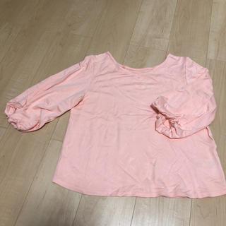 ViS - VIS 7部丈トップス Mサイズ ピンク
