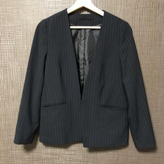 ジーユー(GU)のGU 【セットアップ】ストライプスーツ(スーツ)