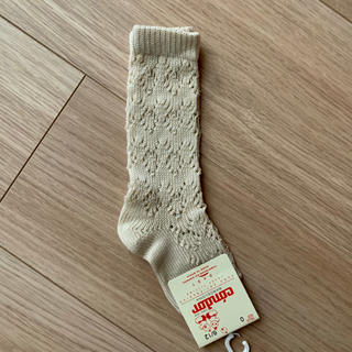 Bonpoint - コンドル サイズ0 レース 靴下 ソックス 新品