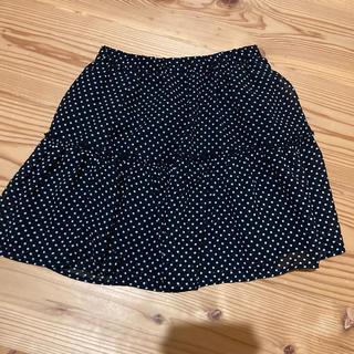 サンカンシオン(3can4on)の美品 裏地付きスカート★130cm(スカート)