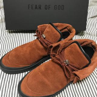 フィアオブゴッド(FEAR OF GOD)のFEAR OF GOD SUEDE CHUKKA BOOT(ブーツ)