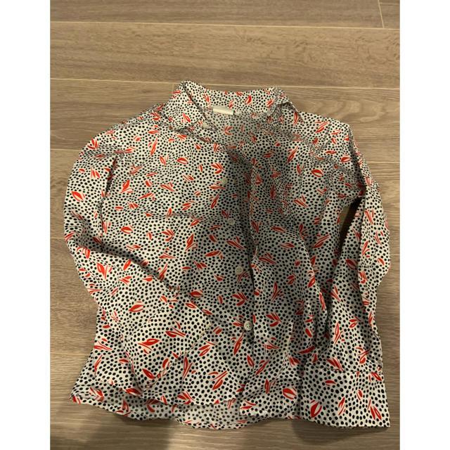 agnes b.(アニエスベー)のAgnes b アニエスベー 子供用シャツ キッズ/ベビー/マタニティのキッズ服女の子用(90cm~)(ブラウス)の商品写真