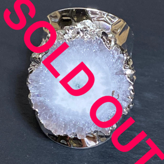 MALAIKA - 天然石 リング 指輪 ホワイト D