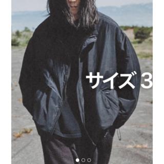 コモリ(COMOLI)のCOMOLI ナイロンショートジャケット サイズ3(ナイロンジャケット)