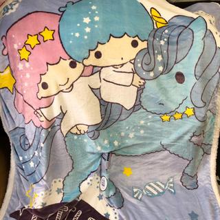 サンリオ(サンリオ)の週末価格!キキララ  ユニコーン ブランケット 毛布 シングルサイズ 寝具 新品(毛布)