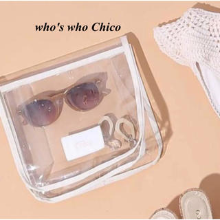 フーズフーチコ(who's who Chico)の新品 who's who Chico クリアーポーチ(ポーチ)