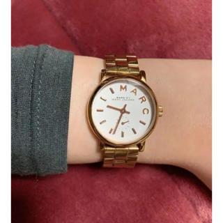 マークバイマークジェイコブス(MARC BY MARC JACOBS)のMARC BY MARC JACOBS 腕時計(ゴールド)(腕時計)