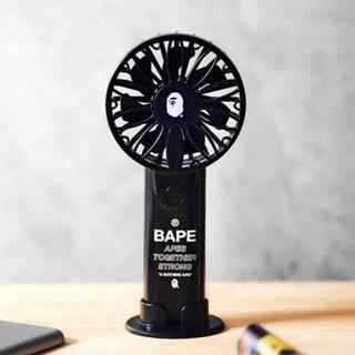 アベイシングエイプ(A BATHING APE)のA BATHING APE®   2WAYハンディ扇風機 新品(扇風機)