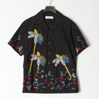 トーガ(TOGA)のTOGA VIRILIS Cotton embroidery shirt(シャツ)