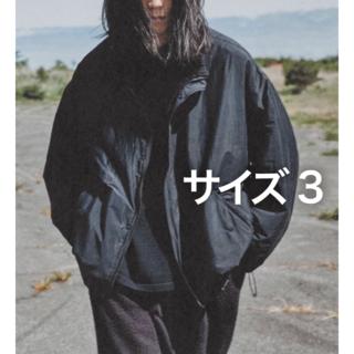 コモリ(COMOLI)の【クロタイ様専用 2 】COMOLI ナイロンショートジャケット サイズ3(ナイロンジャケット)