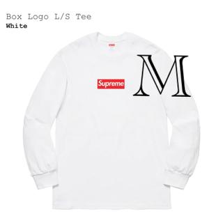 シュプリーム(Supreme)のsupreme Box Logo S/L Tee(Tシャツ/カットソー(七分/長袖))