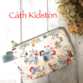 キャスキッドソン(Cath Kidston)のキャスキッドソン&スヌーピーコラボ生地ポーチ(ポーチ)
