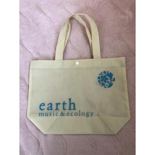 アースミュージックアンドエコロジー(earth music & ecology)のショップ袋 アースミュージックアンドエコロジー レジ袋有料化(ショップ袋)