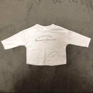 フタフタ(futafuta)のテータテート シンプルロンT (Tシャツ)