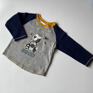 グッチ(Gucci)のGucci☆サッカーロボット柄カットソー(Tシャツ)