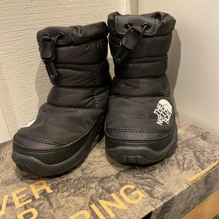ザノースフェイス(THE NORTH FACE)のノースフェイス キッズ ヌプシ ブーツ 14cm ブラック(ブーツ)