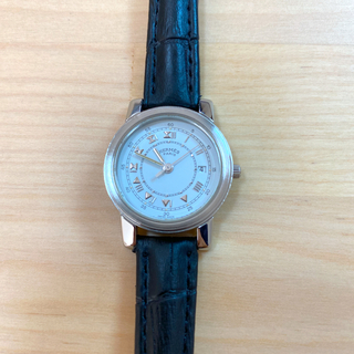 Hermes - ☆超美品☆ エルメス HERMES キャリック レディース 時計 腕時計 稼働中