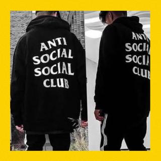アンダーカバー(UNDERCOVER)の本物 anti social social club パーカー tシャツ ma1(パーカー)