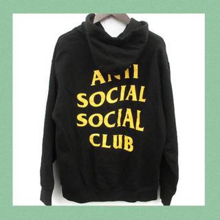 アンダーカバー(UNDERCOVER)の本物 正規品 anti social social club スウェットパーカー(パーカー)