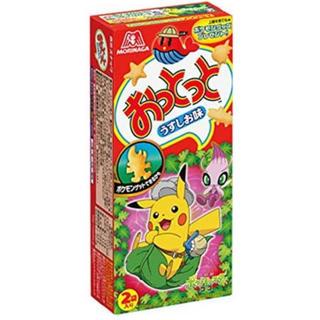 ポケモン - おっとっと うすしお味 ポケットモンスターコラボ ポケモン 20箱